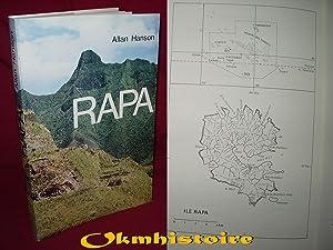 RAPA , une île polynésienne hier et aujourd'hui: HANSON ( F. Allan )
