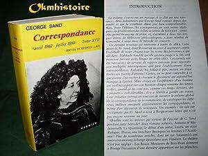 SAND ] Correspondance ---------- Tome 17 ( avril 1862 - Juillet 1863 ): Georges Sand