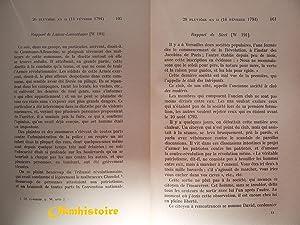 PARIS pendant la Terreur. Rapports des agents secrets du ministre de l'Intérieur -------- ...