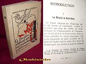 siècle ------- [ Poèmes et récits de la vieille France. Tome XI ]: SCHNEEGANS ...