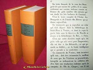Assises du Royaume de Jérusalem ( Textes Français et Italien ), conféré...