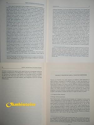 Visions, prophéties et pouvoir à Byzance. Étude sur l'hagiographie m&...