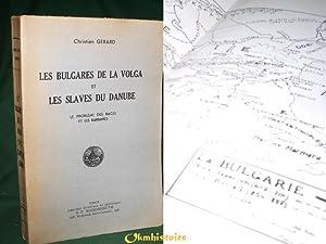 Les Bulgares de la Volga et les Slaves du danube. Le problème des races et les Barbares.: ...