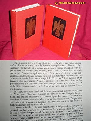 BYSANCE AU VIIe SIECLE . ----------- 2 Volumes /2 : Tome 1 ( 1985 ) Les premiers hé...