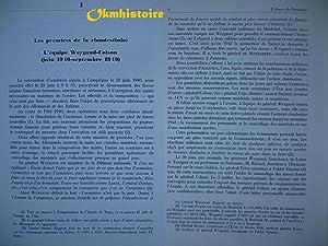 L'ORA Organisation de résistance de l'armée - La résistance de l&#...
