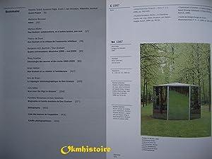 DAN GRAHAM : Exposition, Paris, Musée d'art moderne de la Ville de Paris, 21 juin-15 ...