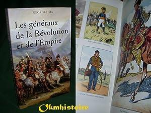 LES GENERAUX DE LA REVOLUTION ET DE L' EMPIRE: SIX ( Georges )