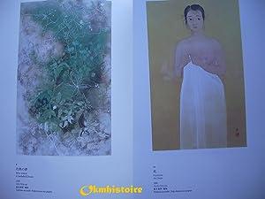 L'INSTANT ET L' ÉTERNITÉ - Peinture traditionnelle japonaise Nihon-ga de ...