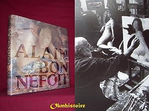 Alain Bonnefoit - peintures , sculptures . ----- [ + ENVOI ET DESSIN ORGINAL DATE SIGNE DE L'...