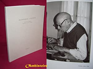 HOMMAGE A ESTEVE - Oeuvres sur papier : Aquarelles , Dessins et Collages: CHAPON ( François ) & ...
