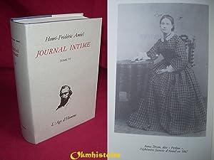 JOURNAL INTIME . ----- Tome 6 ( Octobre 1865 à Mars 1868 ): AMIEL ( Henri-Frédéric ) [ ...