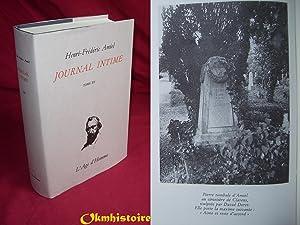 JOURNAL INTIME . ----- Tome 12 ( Juillet 1879 - Avril 1881 ): AMIEL ( Henri-Frédéric ) [ Publié ...