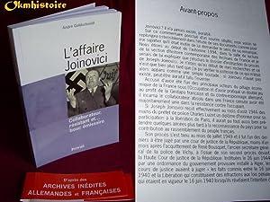 L'Affaire Joinovici. Collaborateur, Résistant et Bouc Émissaire: Goldschmidt ( ...
