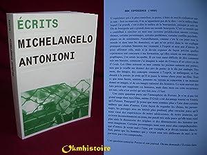 ÉCRITS - Michelangelo Antonioni: ANTONIONI ( Michelangelo ) [ Alain BONFAND ]