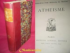 Mémoires d'un medecin de Marine . Athéisme .: Arizzi ( Emile )