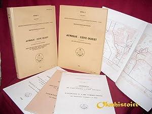 INSTRUCTIONS NAUTIQUES - AFRIQUE CÔTE OUEST . 1 tome en 2 volumes : 1ère partie ( Au ...