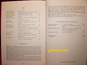 Parade sauvage : Revue d'études rimbaldiennes -------- N° 16 , Mai 2000: RIMBAUD ( ...