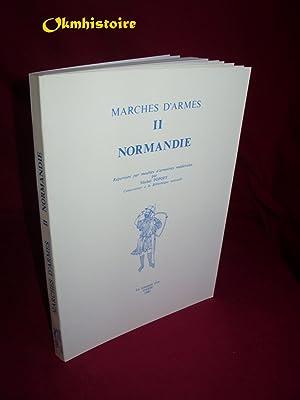Marches d'armes. N°2. NORMANDIE . Répertoire par: POPOFF ( Michel