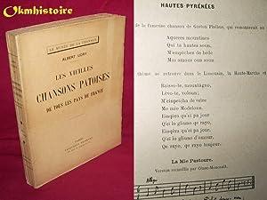 LES VIEILLES CHANSONS PATOISES DE TOUS LES PAYS DE FRANCE: Udry ( Albert )
