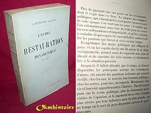 L'échec de la Restauration monarchique en 1873: LOTH ( Arthur )