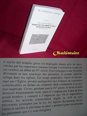 Ad ecclesiam confugere. Naissance du droit d'asile dans les églises ( IVe - milieu du ...