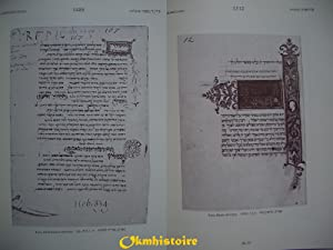 Manuscrits médiévaux en caractères hébraïques portant des ...