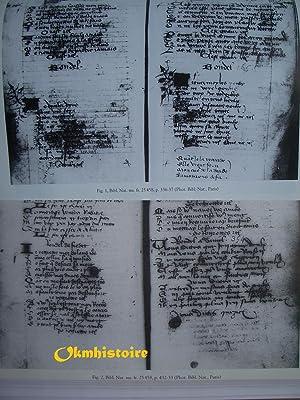 L'Hostellerie de pensée - études sur l'art littéraire au Moyen Age ...