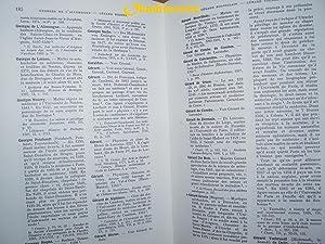 Dictionnaire biographique des médecins en France au Moyen-Âge . --------- 2 Volumes: ...