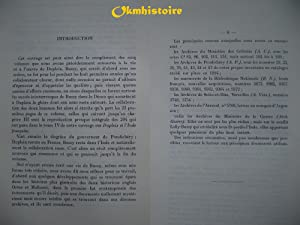 BUSSY ET L'INDE FRANCAISE, 1720-1785.: MARTINEAU ( Alfred )