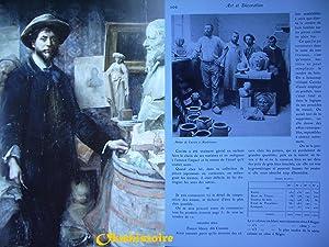 Jean Carriès (1855-1894 ) : La matière de l'étrange: SIMIER ( Amélie ) [ ...
