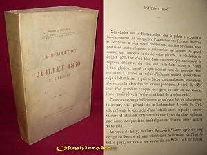 LA REVOLUTION DE JUILLET 1830 ET L'EUROPE .: GUICHEN ( Vicomte de )