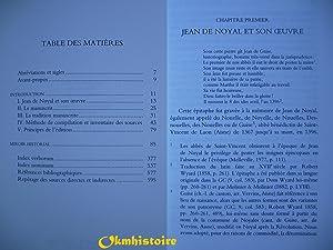 Miroir historial: Jean de Noyal