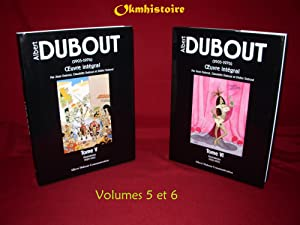 ALBERT DUBOUT - L'oeuvre integral ------- TOMES 5 et 6