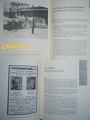 Souffrance et liberté : Une géographie parisienne des années noires (1940-1944...