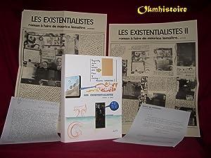Les existentialistes, roman à faire: LEMAITRE ( Maurice )