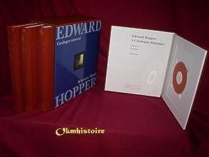 Edward Hopper : A Catalogue Raisonné. -------- Complete set , 4 volumes including CD-ROM: ...