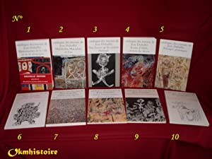Catalogue des Travaux de Jean DUBUFFET. --------- Série complète : Fascicules I &...