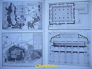 VERSAILLES . Dessins d'architecture de la Direction générale des Bâtiments...