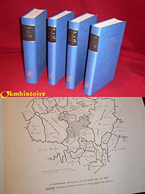 LES ORIGINES DU DUCHÉ DE BOURGOGNE . --------- 4 volumes /4.: CHAUME ( Abbé Maurice )
