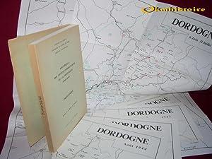 Historique des Unités Combattantes de la Résistance ( 1940- 1944 ). -------- DORDOGNE...