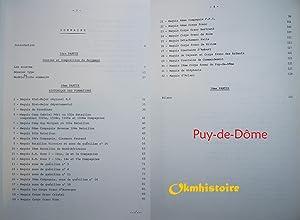 Historique des Unités Combattantes de la Résistance ( 1940 - 1944 ) ------ PUY-DE-D&...