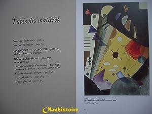 Kandinsky Aquarelles: Catalogue Raisonné. ---------- 2ème Volume 1922-1944: BARNETT (...