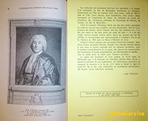 L'Intendance du Lyonnais, Beaujolais, Forez, en 1698 et 1762 : édition critique du m&...