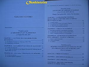 L'Intendance de Lorraine et Barrois à la fin du XVIIe siècle: Jean-Baptiste ...