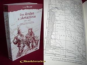 Des Andes à l'Amazonie 1891-1893 . Voyage d'un jeune naturaliste au temps du caoutchouc: ...