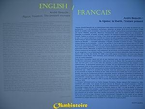 ANDRE BEAUDIN ---------- Bilingue : Français // ENGLISH: PERSIN ( Patrick-Gilles )