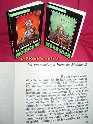 ELRIC DES DRAGONS . La jeunesse d'Elric . -------- 2 tomes /2 .: MOORCOCK ( Michael )