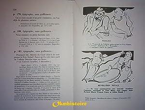 """Relevé des sources et citations dans """"Bagatelles pour un massacre"""": KAPLAN ( Alice..."""