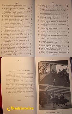 Recherches sur les superstitions en Chine -------- Tome 13 - Vie populaire de Confucius illustr&...