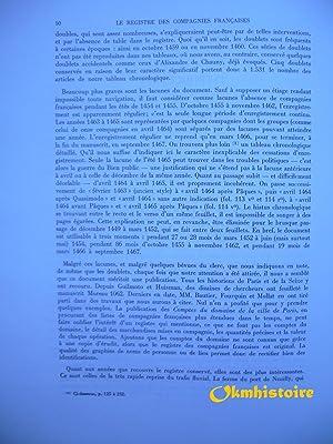 Le commerce fluvial dans la région Parisienne au XVe siècle . ------ TOME 1 : LE ...